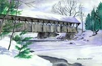 Artist's Bridge, Newry Maine
