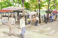 Place du Tertre, Montmartre (Painters on the Square)